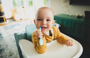 Mundpflege Fingerling